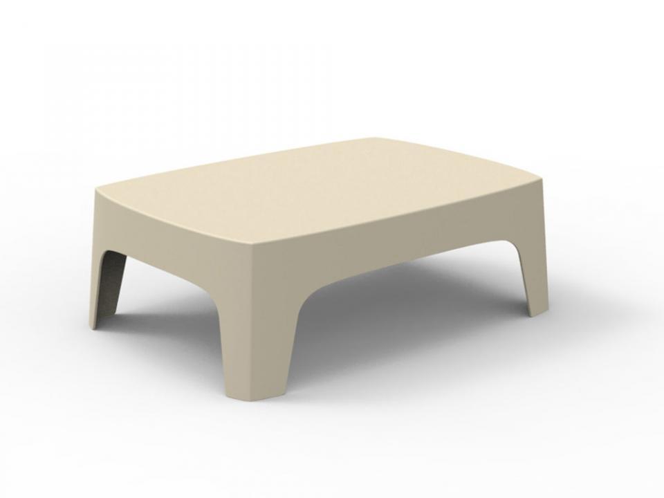Table basse de jardin en polypropylène