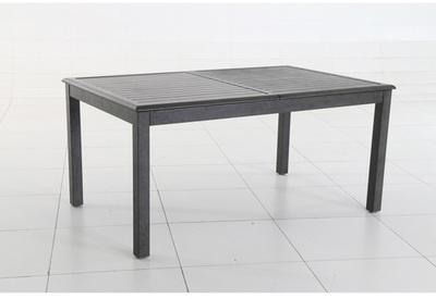Table extensible rectangulaire