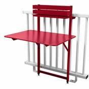 Table de balcon pliante rabattable