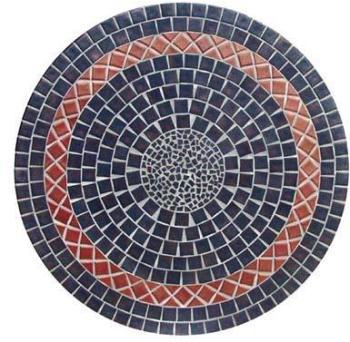 Table jardin ronde en mosaique