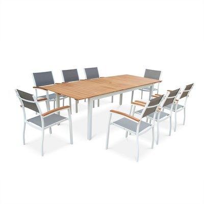 Catgorie table de jardin page 4 du guide et comparateur d 39 achat for Salon de jardin bois et aluminium