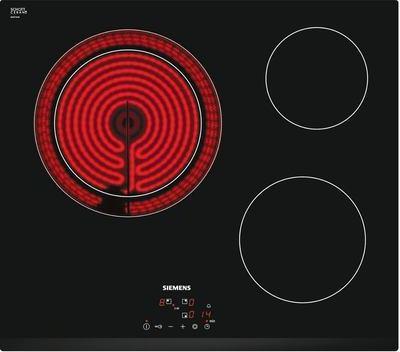 siemens et631bk17e plaque de cuisson vitroc ramique 3 foyers. Black Bedroom Furniture Sets. Home Design Ideas