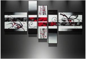 Tableaux design rouge Tendance