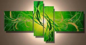 Tableau Zen Design vert