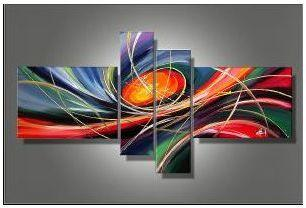 Tableau abstrait Univers