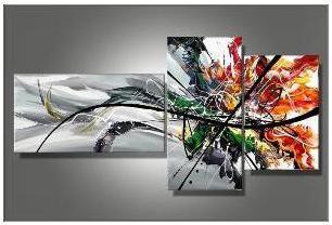 Tableau Triptyque Colorfull