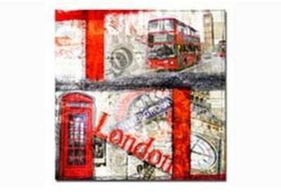 Tableau Londres Bus Cabine