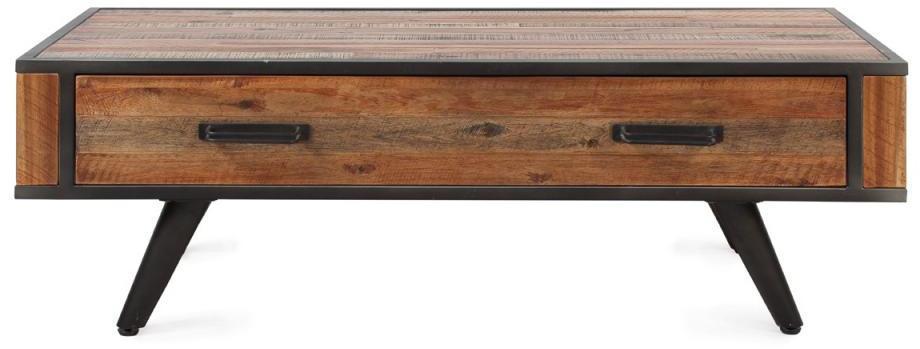 Table basse 120 cm bois et