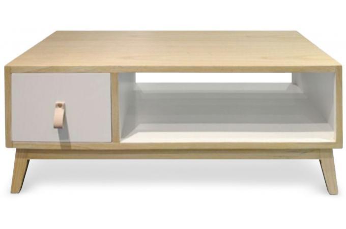 Recherche tiroir du guide et comparateur d 39 achat for Table basse scandinave super u