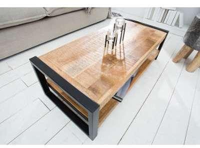 Table basse industrielle en