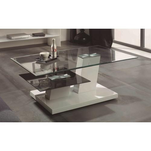 Catgorie tables basses du guide et comparateur d 39 achat - Table basse verre noir ...