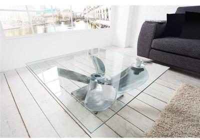 Table basse design en aluminum