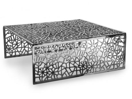 Table basse SPLENDEUR en aluminium