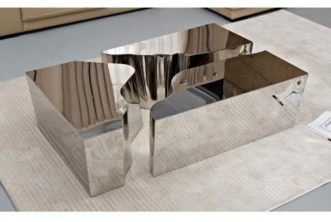 Table basse design en acier