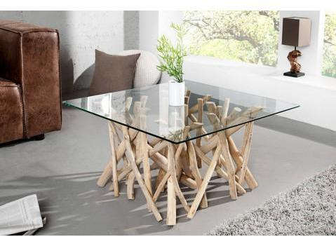 Table basse design carrée