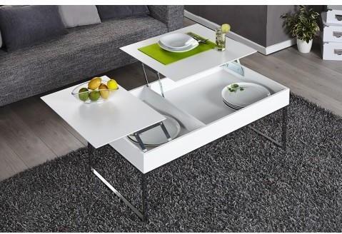 Table basse design avec plateau