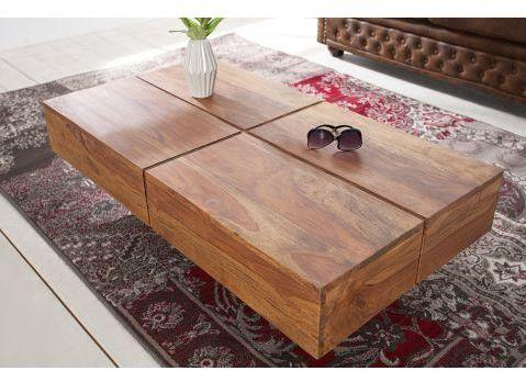 Table basse design rectangle