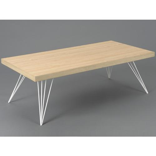 Table basse bois clair scandinave for Table bois clair scandinave