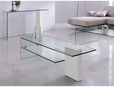 Table basse EDNA - Blanc