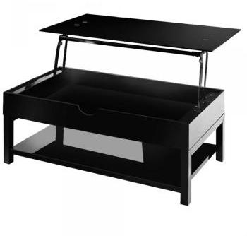 Table basse Up Noir