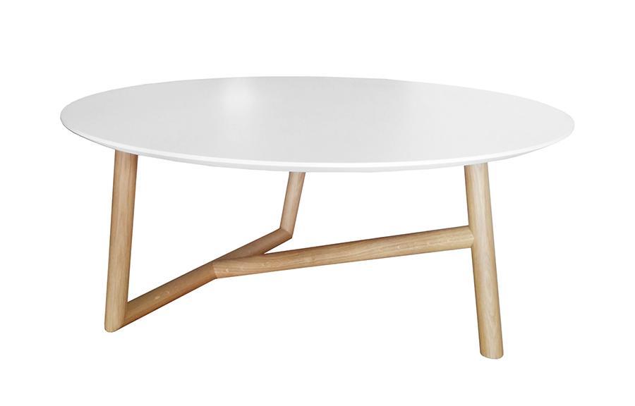 Sofactory Klara Table Basse Avec Rangement Bicolore