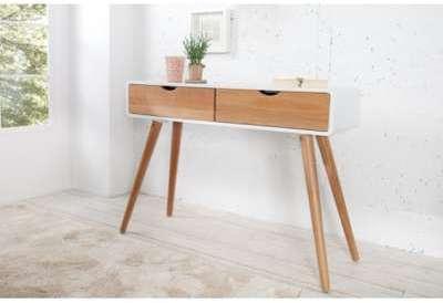 Console design en bois chêne