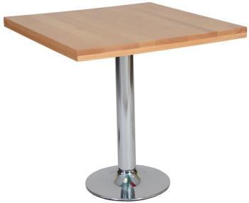 Table carrée Hêtre Bistrot