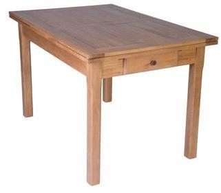 Table cuisine chêne 120x80