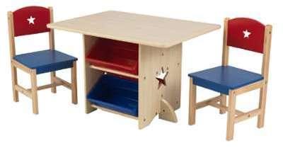 KidKraft Ensemble table chaise
