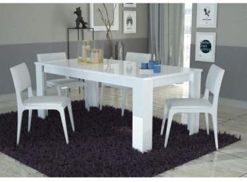 Table à manger design blanc