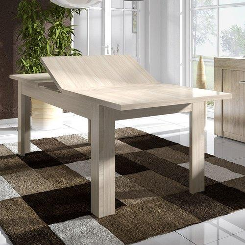 Table de salle a manger contemporaine avec rallonge for Table salle a manger avec rallonge ikea