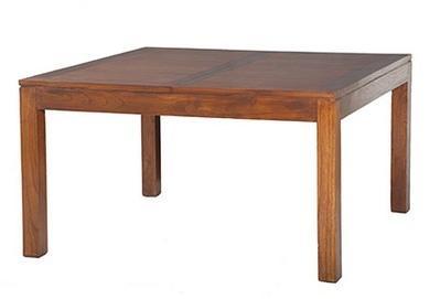 Table à manger carrée avec