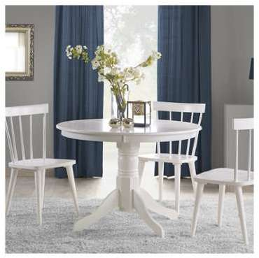 Table à manger ronde baroque