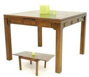 Table Carrée Tanoa Hévéa