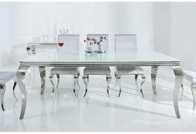 Table à manger baroque en