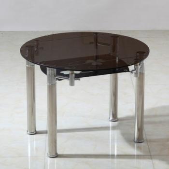 Table ronde extensible en