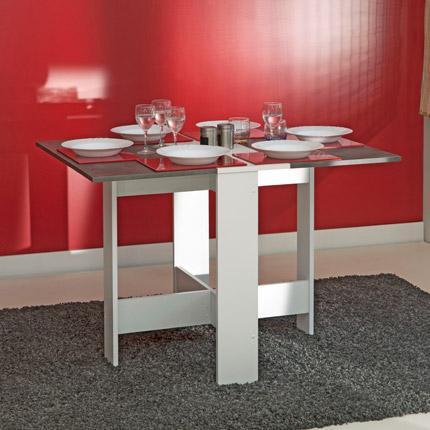 Table pliante deux abattants