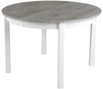 Table ronde avec allonge RUBEN