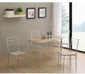 Ensemble Repas Table 4 Chaises