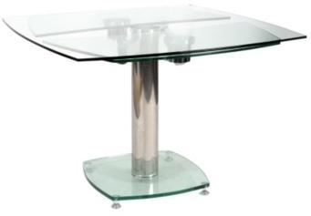Table carrée extensible VIDRION