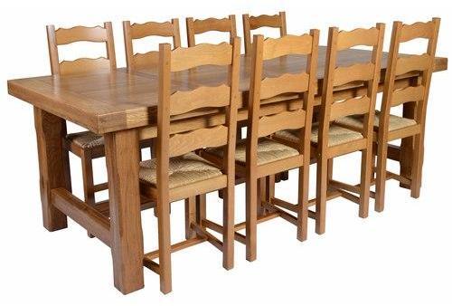 Table de ferme chêne 180 2allonges