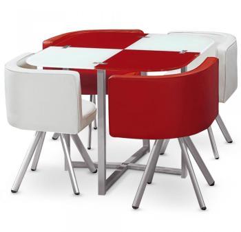 Table et chaises Mosaic 90