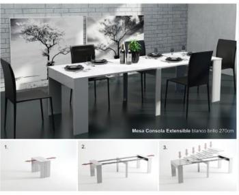 Table extensible REMOVA Wengé