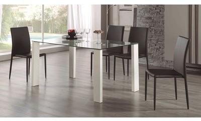 Soldes - Table à manger rectangulaire
