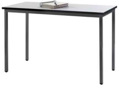 Table pieds fixes 120x60 gris