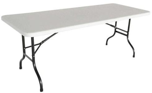 Table pliante 200cm 10 places