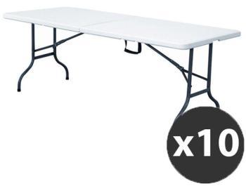 Tables pliantes 244 cm - Lot