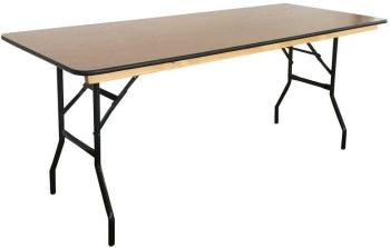 Table pliante en bois 180cm
