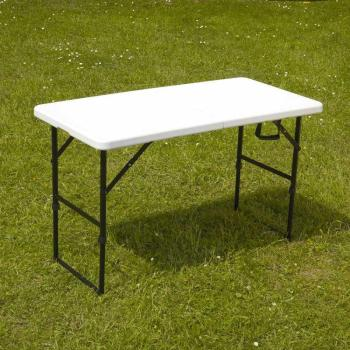 Table pliante 122cm 4 places