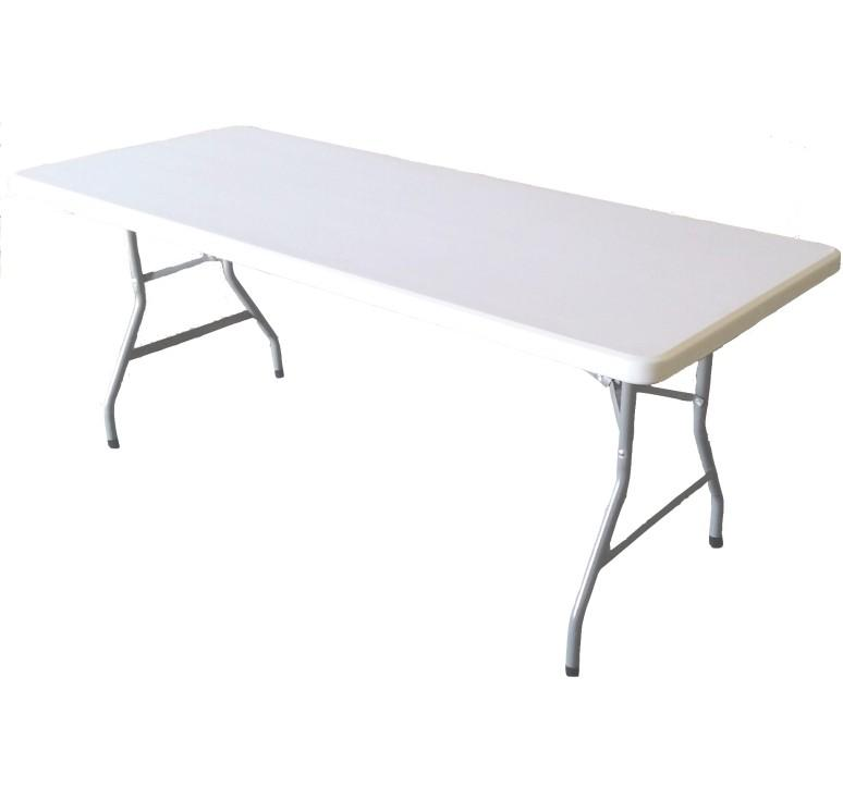 Table pliante polypro 183x76